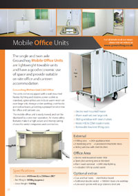 Mobile Office Units  Brochure