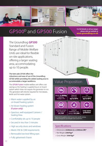 GP500D and GP500 Fusion Brochure