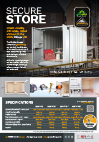 Mobile Secure Store Units Brochure