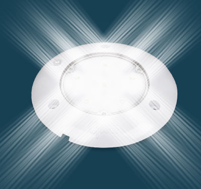 LED lighting with PIR sensors
