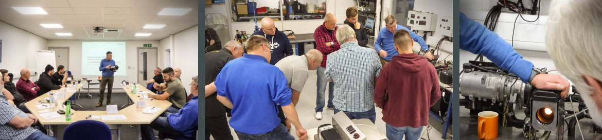Detailed and focused Webasto Heating System training